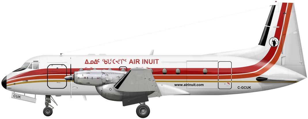 Bae Hawker HS-748