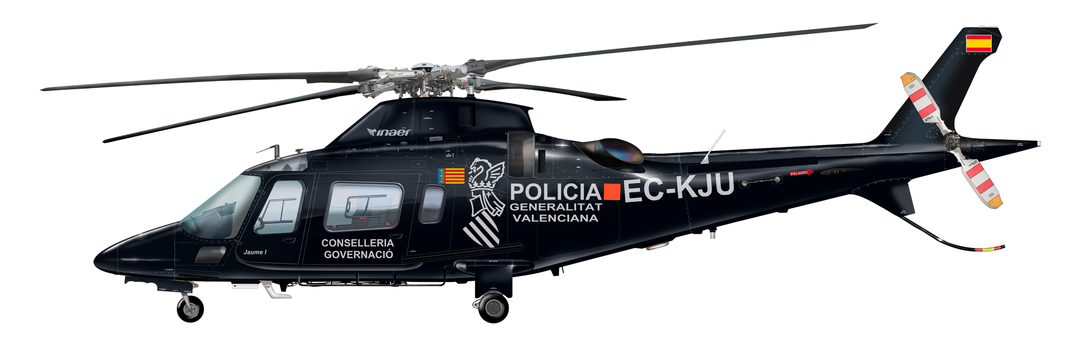 Agusta Westland AW-109E Power