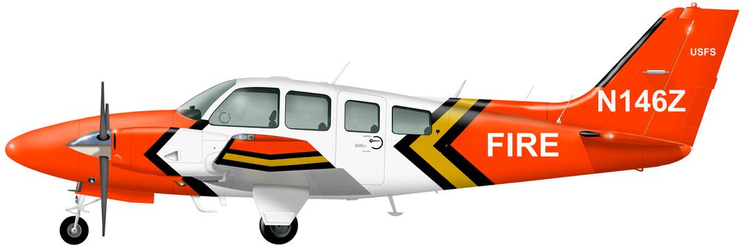 Beechcraft 55 Baron
