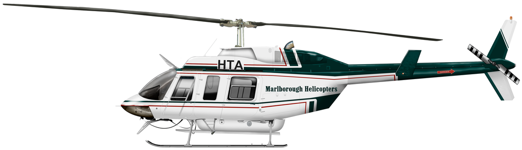Bell 206L Long Ranger III