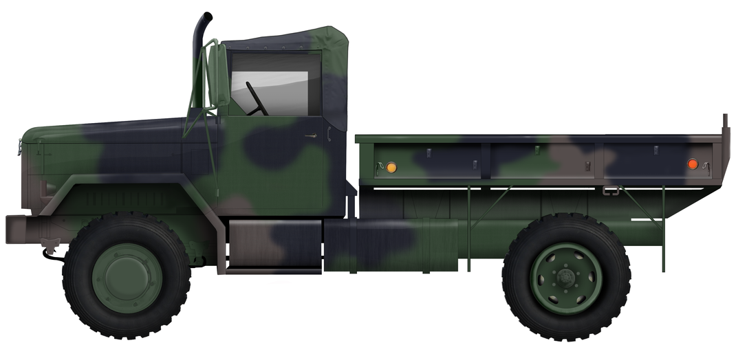 AM General M35 2.5 Ton Modificated 4x4