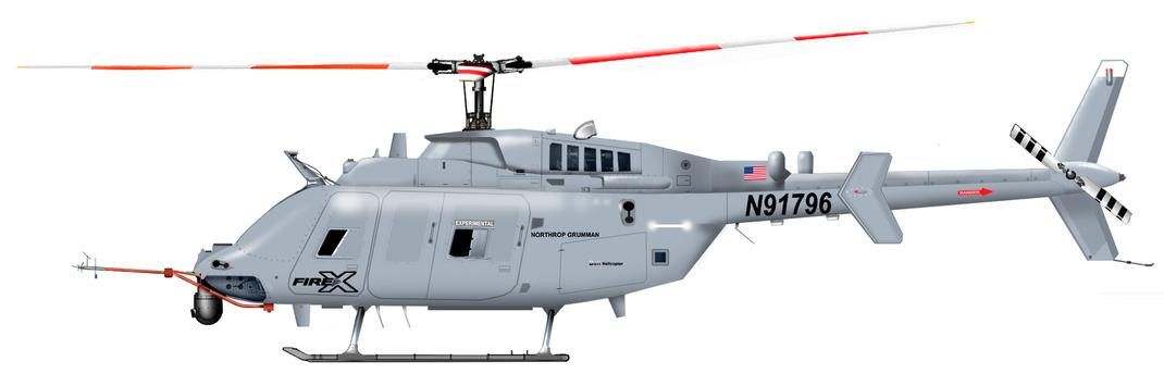 Bell-Northrop Grumman 407 Fire X