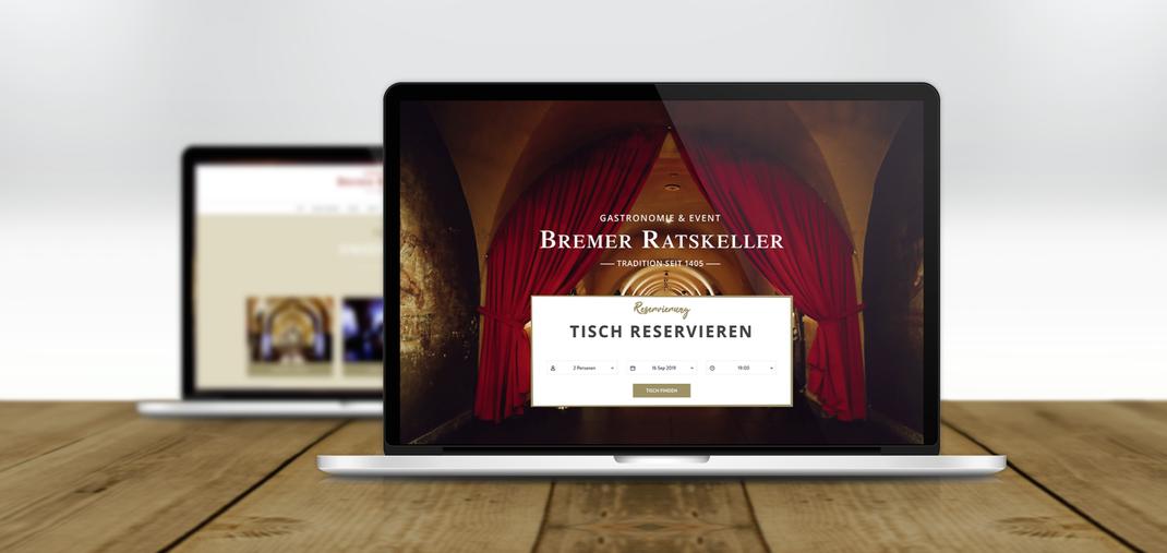 Relaunch der Internetseite mit Shop für den Bremer Ratskeller