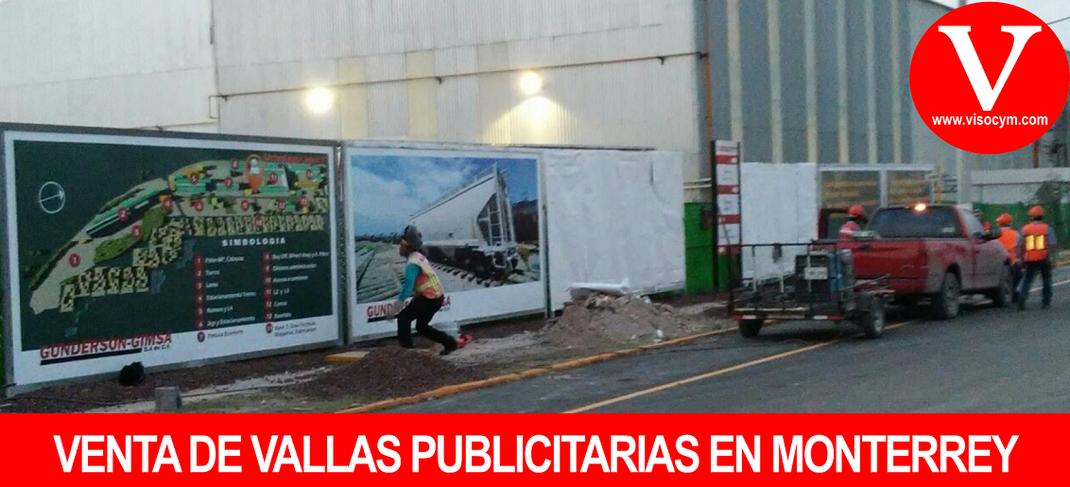 VENTA DE VALLAS PUBLICITARIAS EN MONTERREY