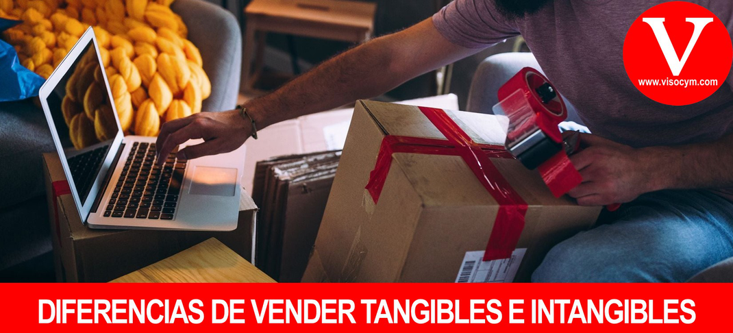 Vender productos tangibles e intangibles y sus ventajas