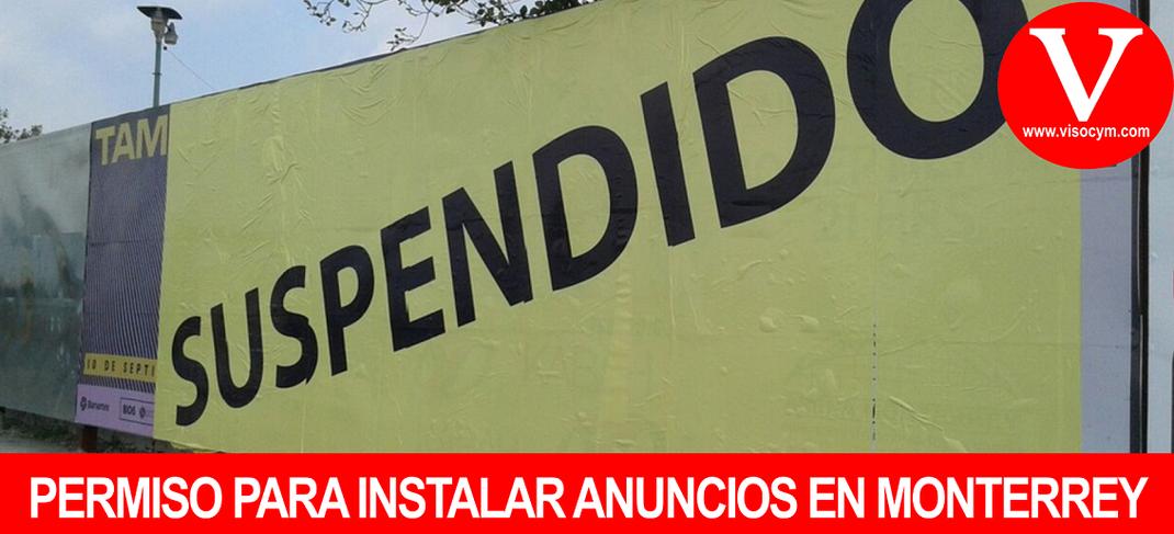 PERMISO PARA INSTALAR ANUNCIOS EN MONTERREY