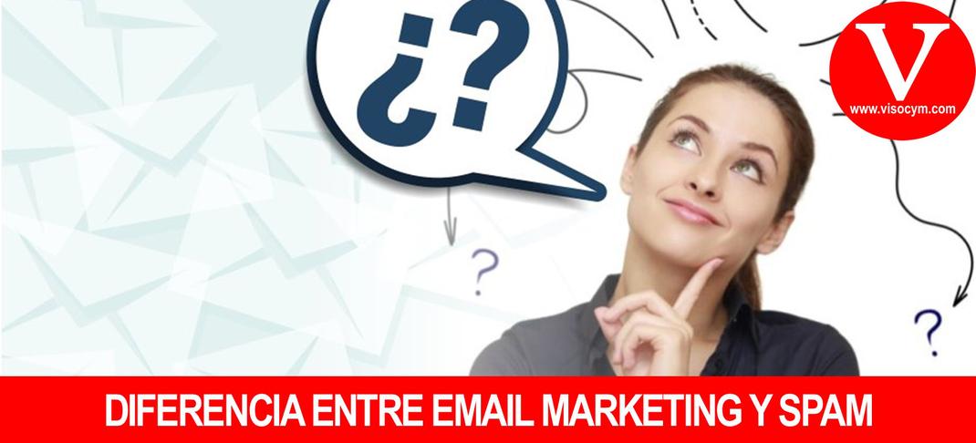 Diferencia entre email marketing y spam