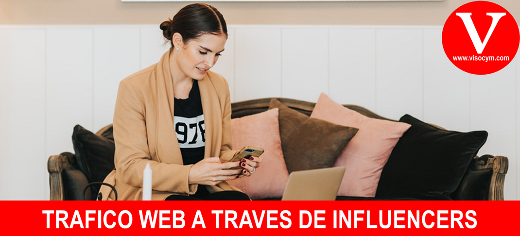 TRAFICO WEB A TRAVÉS DE INFLUENCERS