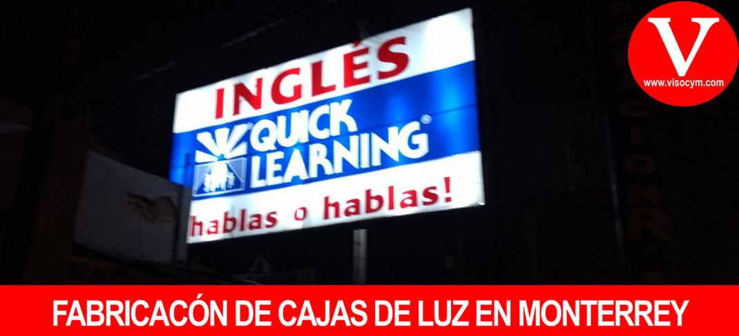 FABRICACÓN DE CAJAS DE LUZ EN MONTERREY