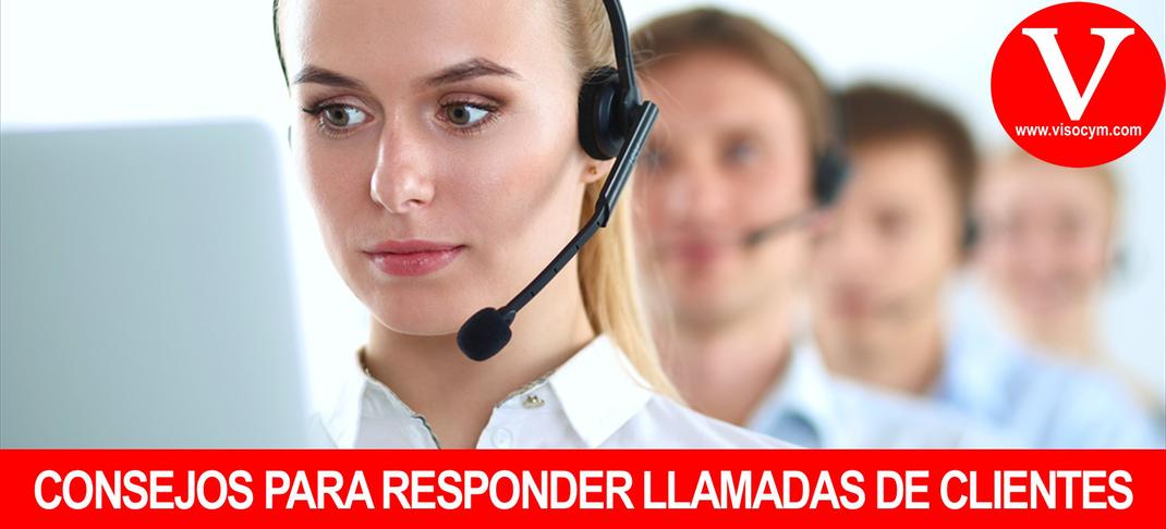 Consejos para responder llamadas telefónicas de clientes