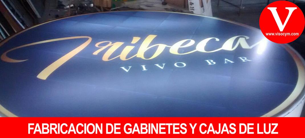 FABRICACION DE GABINETES Y CAJAS DE LUZ