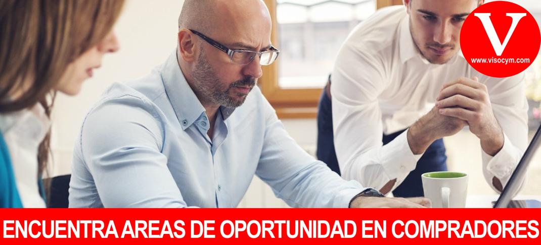 Encuentra las areas de oportunidad en compradores