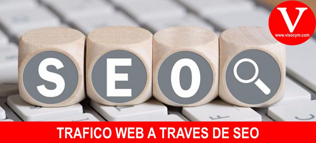 TRAFICO WEB A TRAVÉS DE SEO