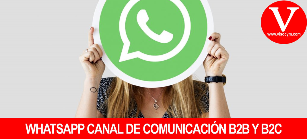 Whatsapp canal de comunicación entre empresas y particulares