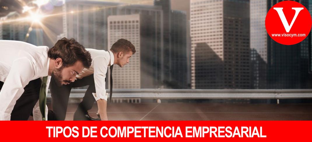 Tipos de competencia empresarial por producto y competidores