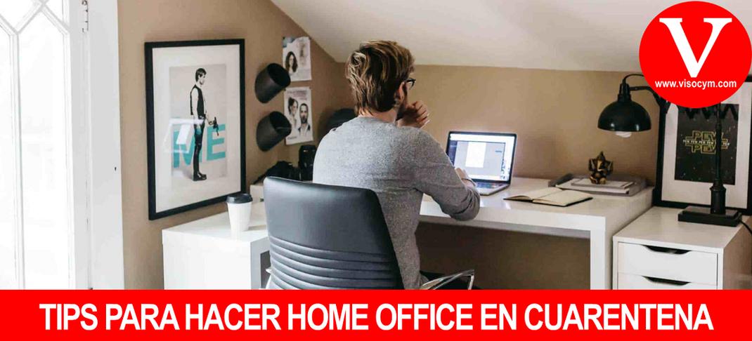TIPS PARA HACER HOME OFFICE EN CUARENTENA