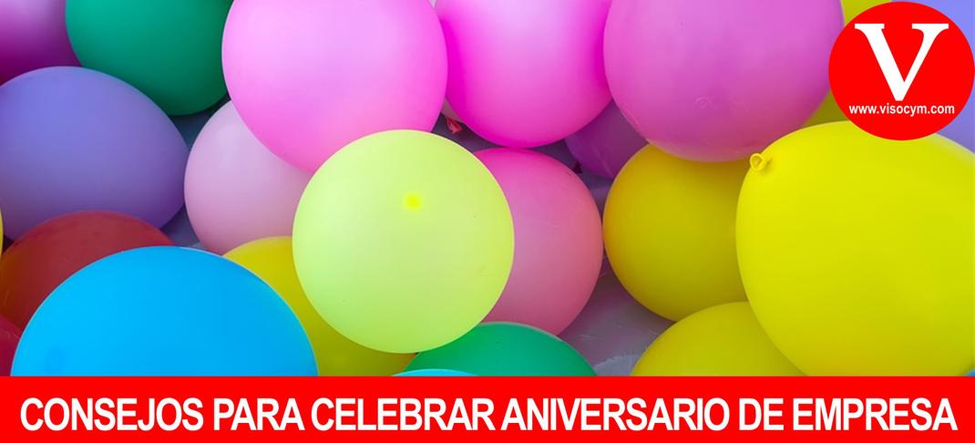 Celebrando aniversario de empresa