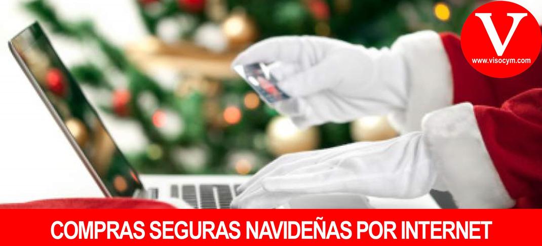 Compras seguras navideñas por internet