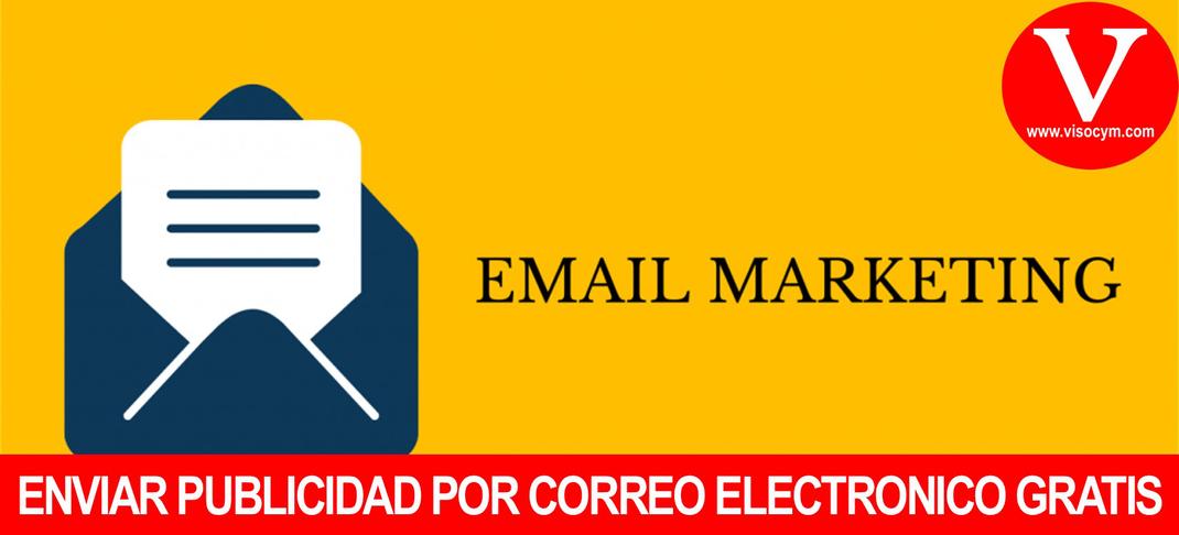 Enviar publicidad por correo electronico gratis a clientes