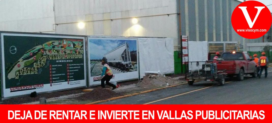 DEJA DE RENTAR E INVIERTE EN VALLAS PUBLICITARIAS