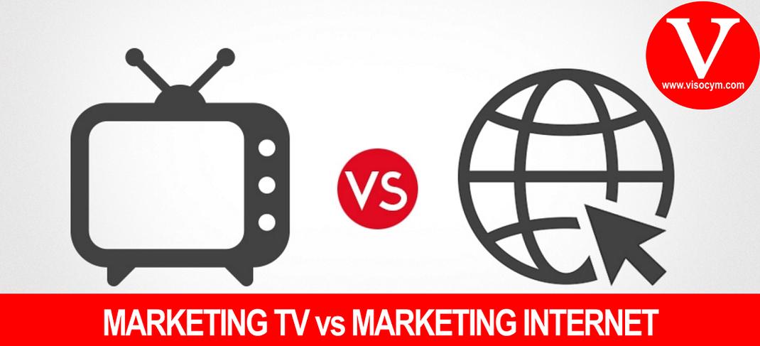 La Publicidad en Internet contra La Publicidad en Televisión