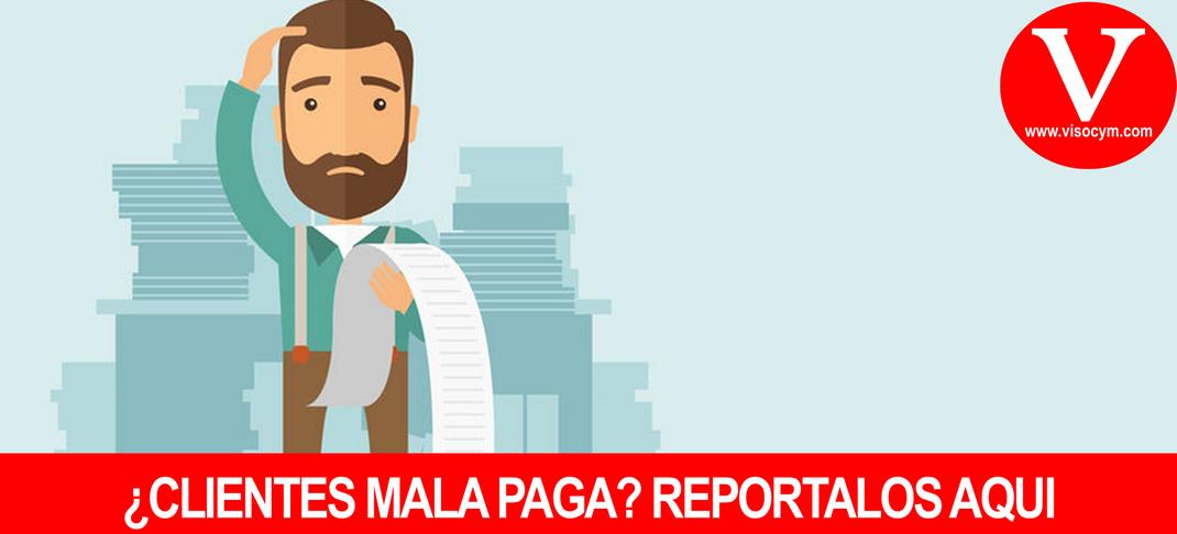 Boletín para reportar Clientes mala paga SOLO PARA AGENCIAS DE MARKETING