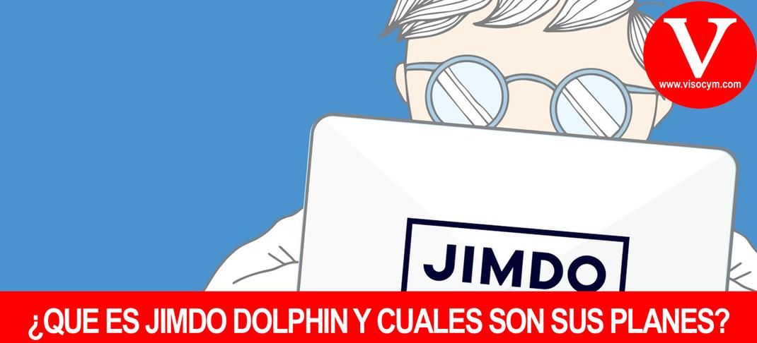 ¿Que es Jimdo Dolphin y cuales son su paquetes?