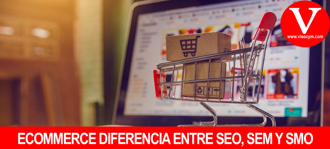 Diferencia entre SEO, SEM Y SMO para tiendas online
