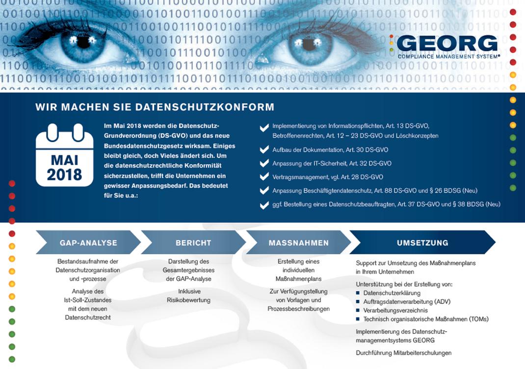 Grundlagen und aktuelle News zum Datenschutz in Deutschland. Datenschutzgrundverordnung und Datenschutzrecht in Unternehmen.