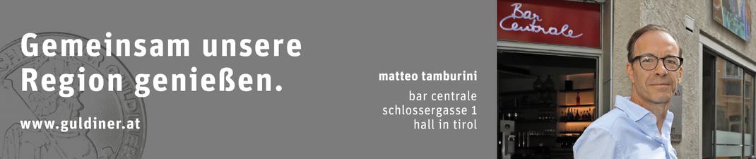 Der GULDINER gilt in über 100 Betrieben der Region Hall-Wattens.