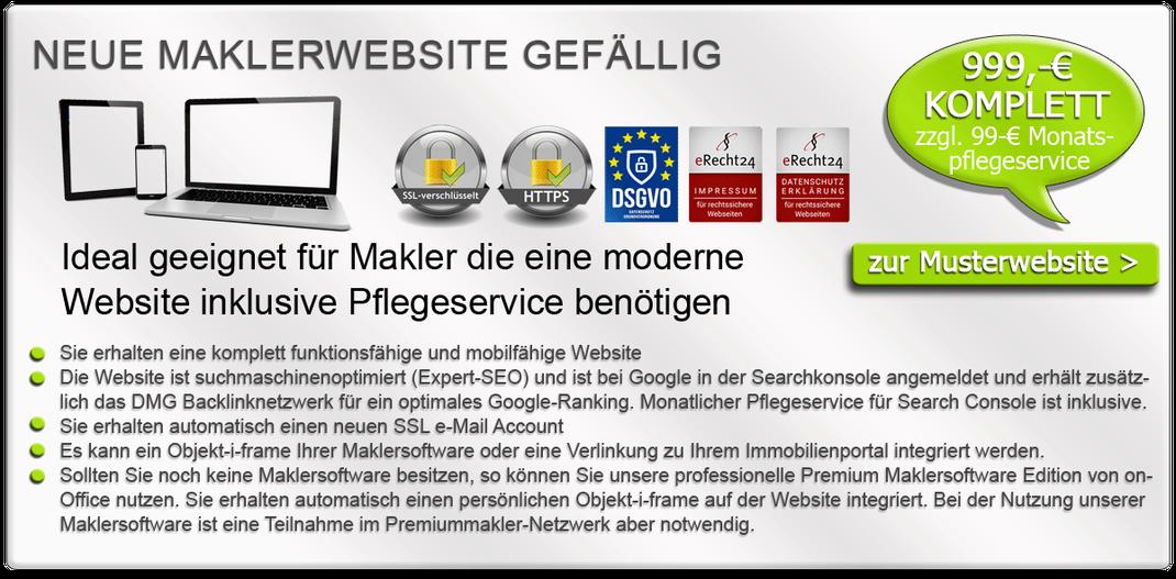 Maklersoftware Immobiliensoftware Immobilienmakler Software