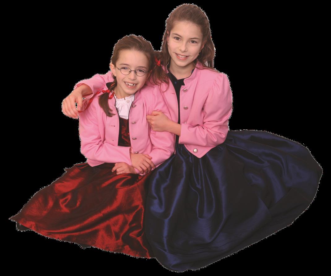 Laura und Anna Handler, Erste Preisträgerinnen des Gesangswettbewerbs und Engelsstimmen 2006