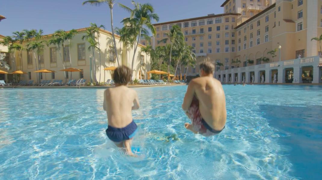 War das größte Pool von Amerika Hotel Coral Gables Biltmore