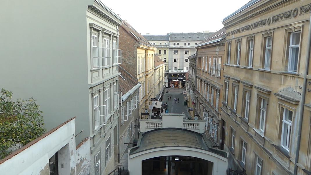 Funiculaire de Zagreb, Croatie.