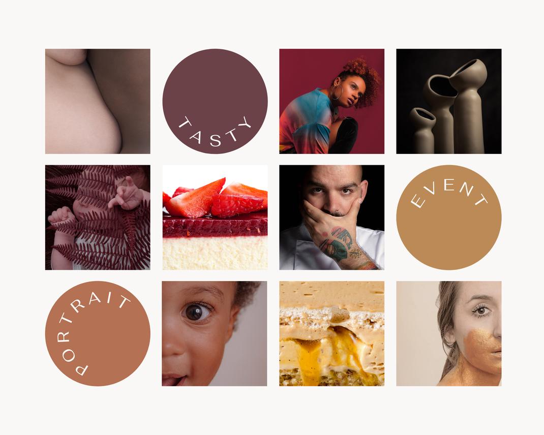 Photographie culinaire, portrait, pâtisserie