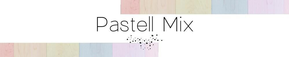 Grafik mit Infos zu der bunten Pastell Mix Edelstein Kollektion von Cathy Thica