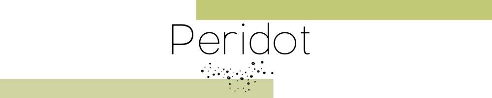 Kollektion grüner Peridot Edelsteinarmbänder & Hals Ketten