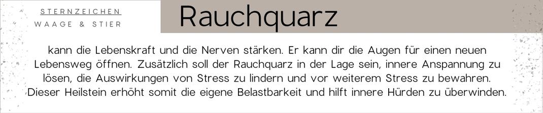 Edelstein Beschreibung vom Edelstein Rauchquarz