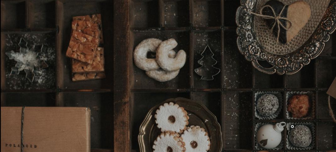 Kekse von oben