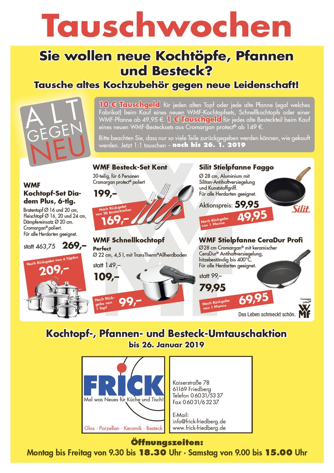 Angebote Aktionen Der Friedberg Hat S Mitglieder Friedberg Hat S