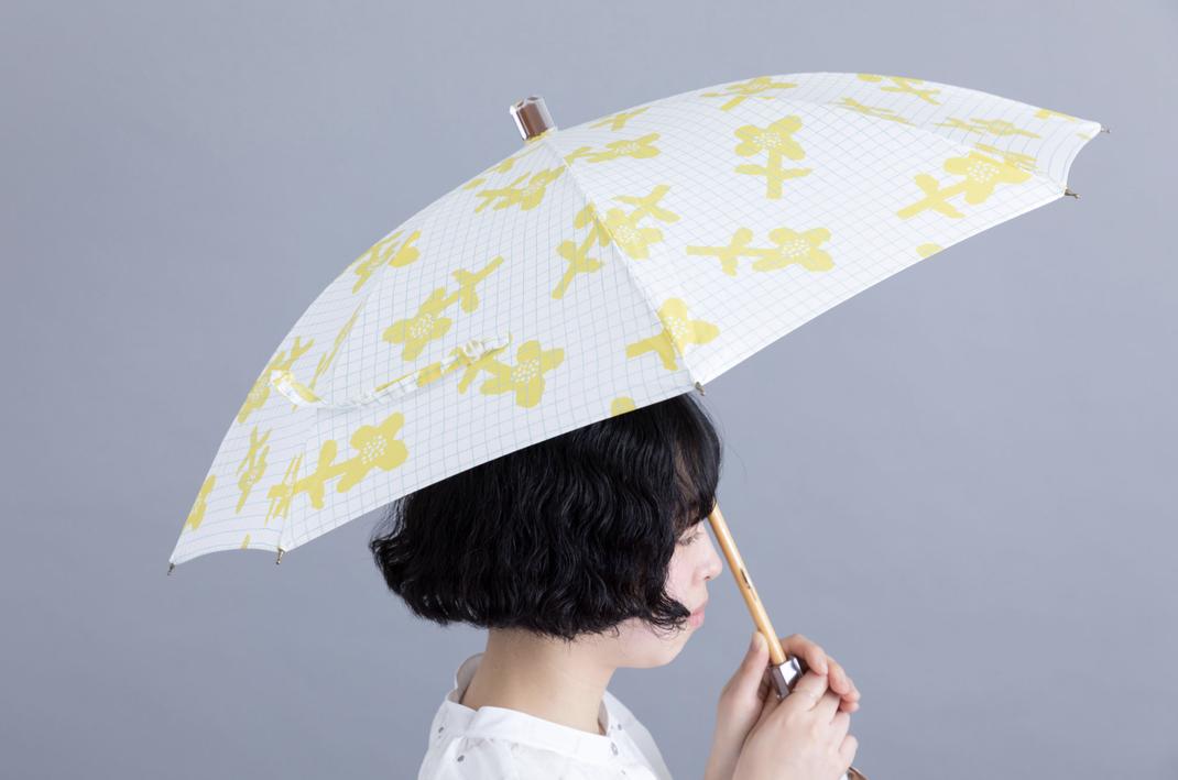 Collaboration : 大森商店×ムラタトモコ  晴雨兼用傘