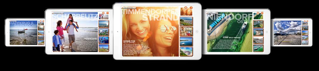 Videos, Luftbilder und Interaktive Panorama auf iPad