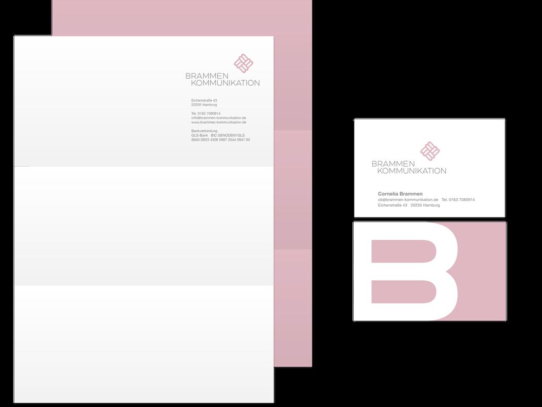 Geschäftsausstattung: Brammen Kommunikation, von Andreas Ruthemann
