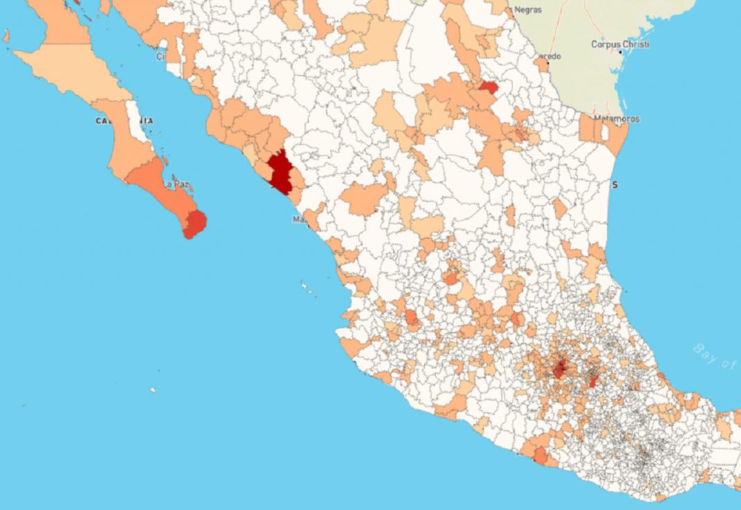 las ciudades mas pobladas de mexico