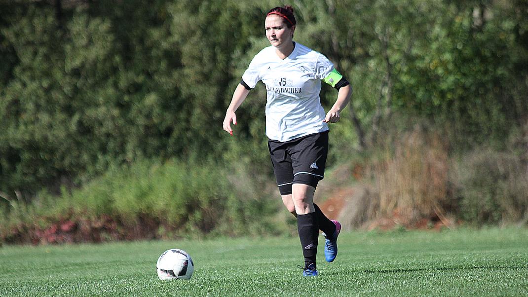Seit dieser Saison ist Lisa Passing Kapitänin der Mannschaft.