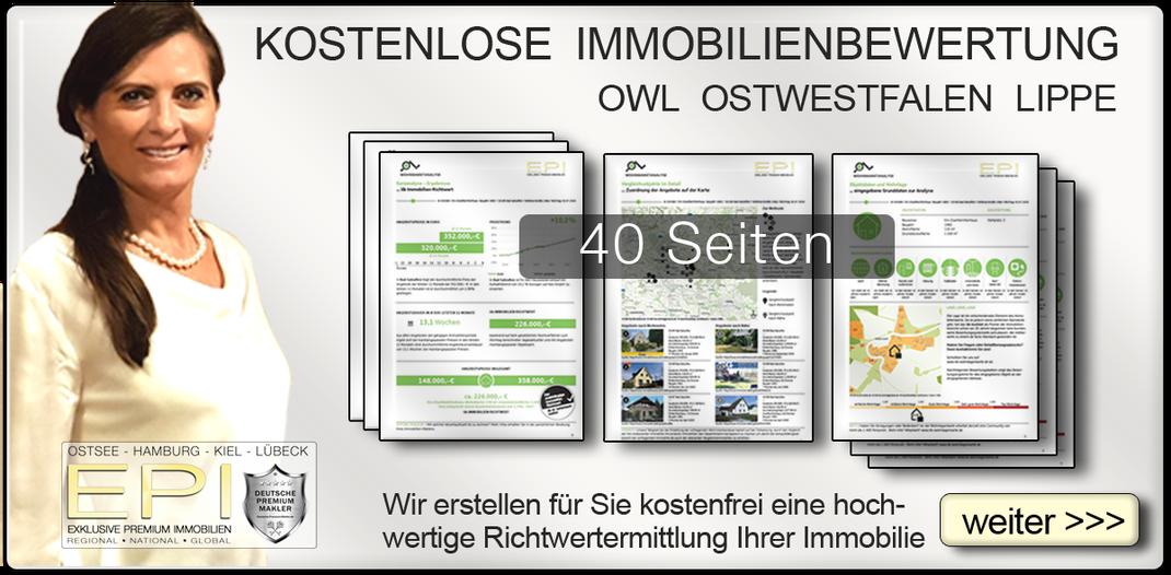 KOSTENLOSE IMMOBILIENBEWERTUNG OWL OSTWESTFALEN LIPPE IMMOBILIENMAKLER