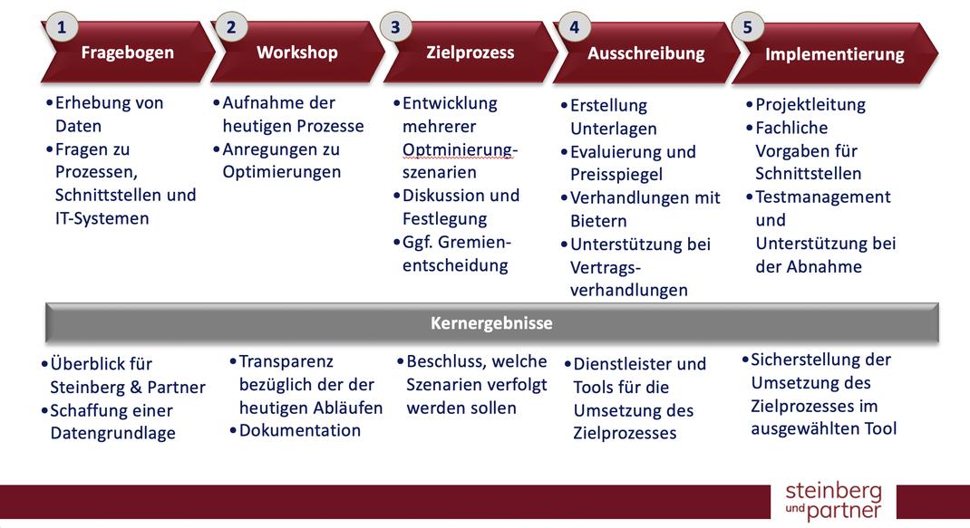 Projektplan Steinberg & Partner