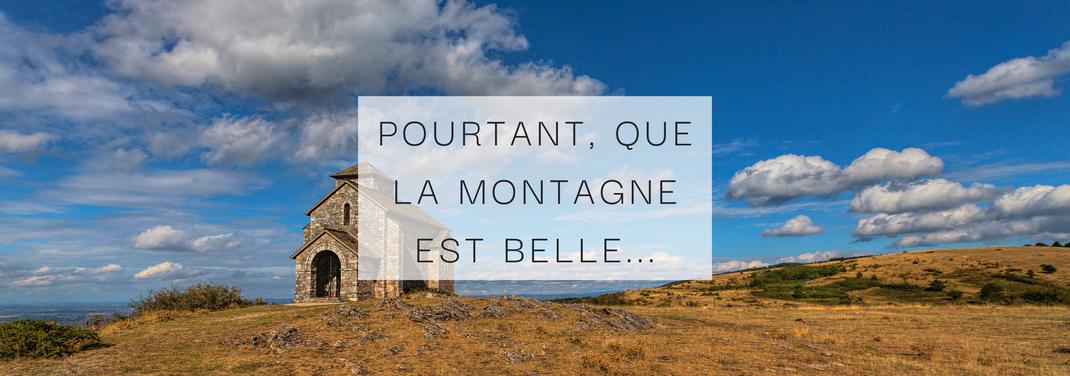 Lionel Aubry, La chapelle de la Capelette de Dourgne sur le Désert de Saint-Ferréol, Montagne Noire, Randonnée, Terres d'Autan