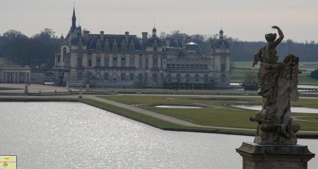 Vineuil Saint Firmin Château de Chantilly