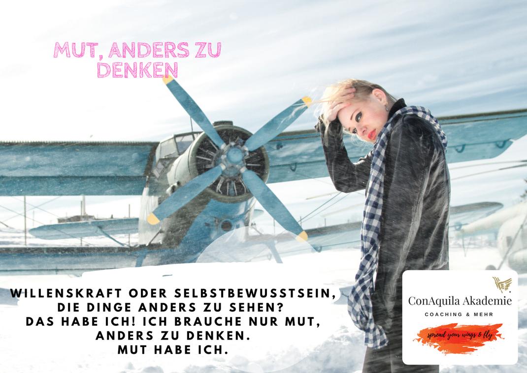 mut. Inspirationen, ConAquila, Martina M. Schuster. Coaching Akademie, Bildquelle: Canva Pro.